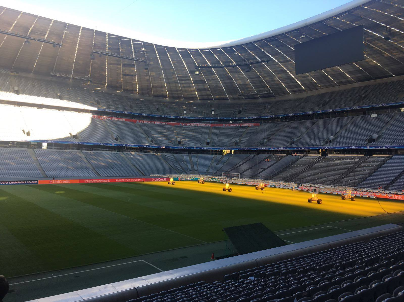 Allianz Arena tour