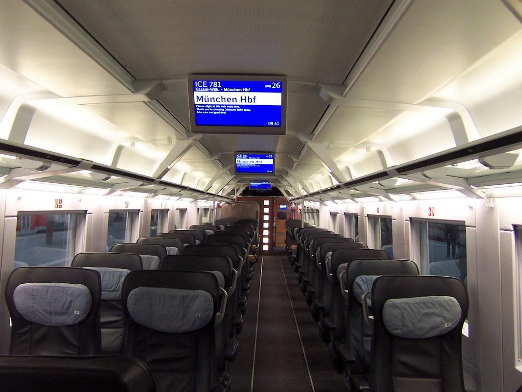 Trein naar München