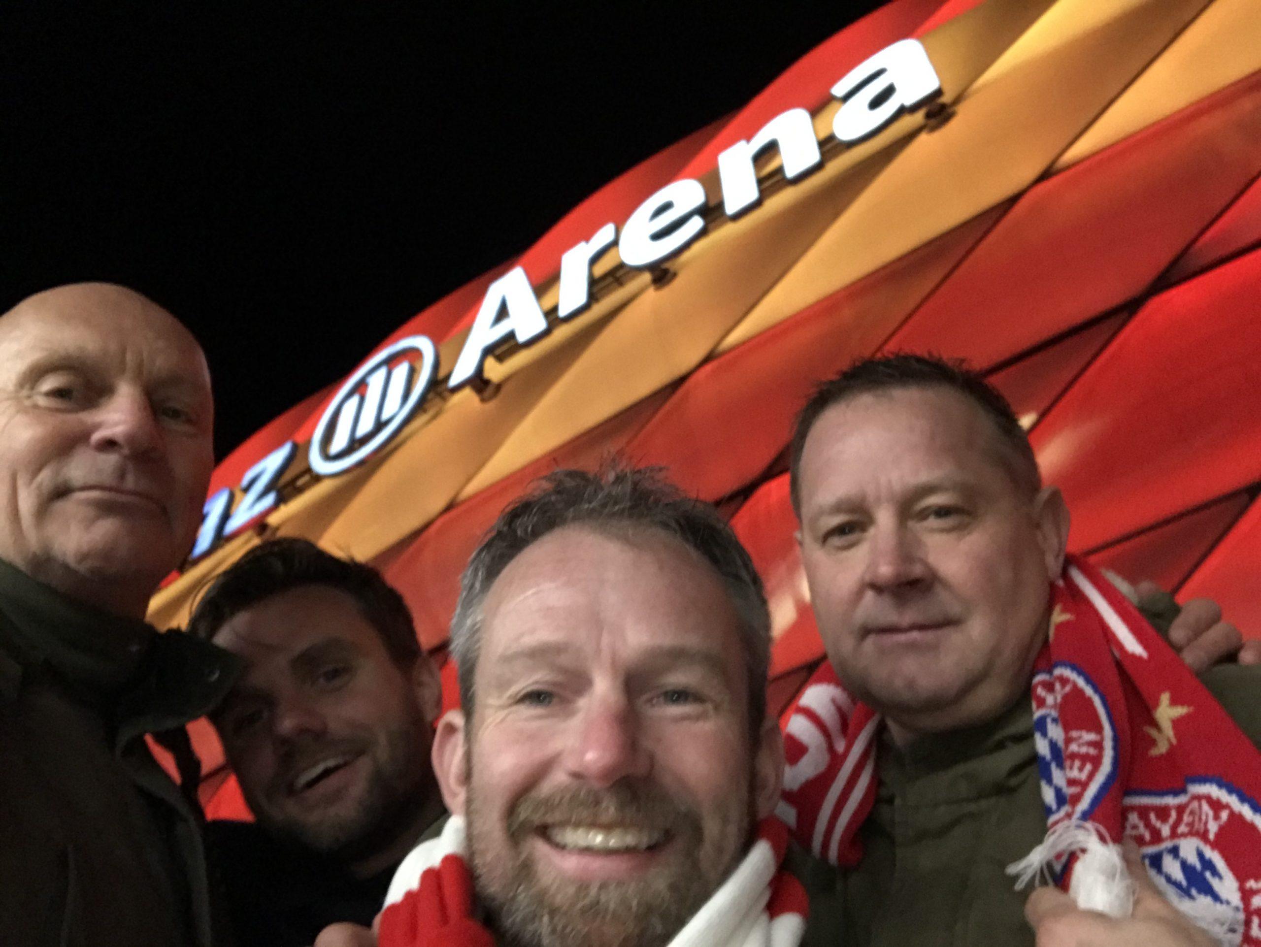 Wedstrijddag FC Bayern München